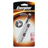 Energizer Aluminum Pen LED Flashlight, 2 AAA, Black EVEPLED23AEH