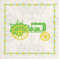 Stamped Cross Stitch Quilt Blocks  NOTM493903
