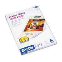 Epson Premium Matte Presentation Paper, 45 lbs., 8-1/2 x 11, 50 Sheets/Pack EPSS041568