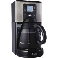 Mr. Coffee Classic Coffee 12-Cup Programmable Coffeemaker MFEFTX41NP