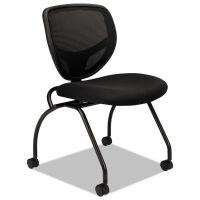HON VL302 Series Mesh Back Nesting Chair, Black, 2/Carton BSXVL302MM10