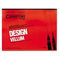 Clearprint Design Vellum Paper, 16lb, White, 18 x 24, 50 Sheets/Pad CLE10001422