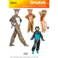 Simplicity Child, Boy And Girl Costumes NOTM495728