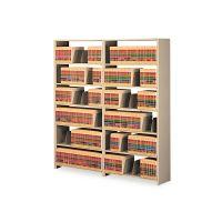 Tennsco Snap-Together Steel Seven-Shelf Closed Starter Set, 48w x 12d x 88h, Sand TNN128848PCSD