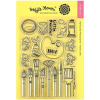 "Waffle Flower Crafts Clear Stamp 5""X7"" NOTM250588"