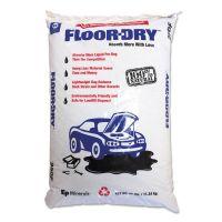 Floor-Dry DE Premium Oil Absorbent, Diatomaceous Earth, 25lb Poly Bag MOL9825