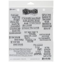 "Dyan Reaveley's Dylusions Cling Stamp Collections 8.5""X7"" NOTM222420"