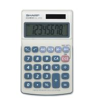 Sharp EL240SB Handheld Business Calculator, 8-Digit LCD SHREL240SAB