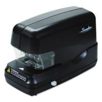 Swingline High-Capacity Flat Clinch Electric Stapler with Jam Release, 70-Sheet Cap, Black SWI69270