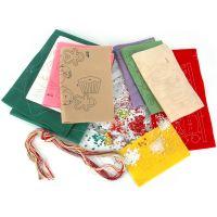 Sugar Plum Fairy Stocking Felt Applique Kit NOTM318260