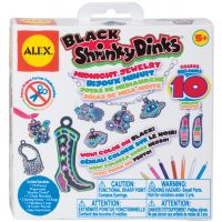 Shrinky Dinks Black Midnight Jewelry Kit NOTM454927