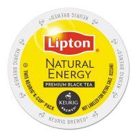Lipton Natural Energy Tea K-Cups, 24/Box GMT6518