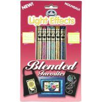 DMC Light Effects Floss Pack 8.7yd 6/Pkg NOTM016243