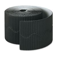 "Pacon Bordette Decorative Border, 2 1/4"" x 50' Roll, Black PAC37306"