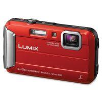 Panasonic Lumix TS30 16 Megapixel Compact Camera - Red PANDMCTS30R