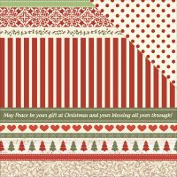 "Silent Night Double-Sided Cardstock 12""X12"" NOTM382852"