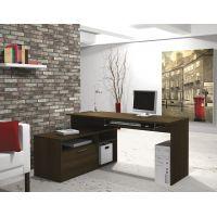 Bestar Modula L-shaped Workstation in Tuxedo BESBES904261178