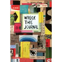 """Wreck This Journal: Now In Color 5-1/2""""X8-1/4"""" NOTM098826"""