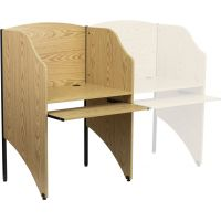 Flash Furniture Starter Study Carrel FHFMTM6201OAKGG