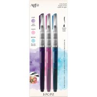 Art-C Pre-Filled Waterbrushes 3/Pkg NOTM382224