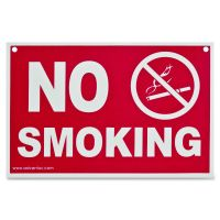 "Advantus ""No Smoking"" Wall Sign AVT83639"