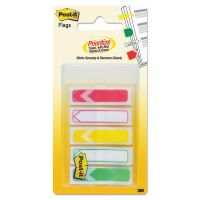 "Post-it Flags Arrow 1/2"" Prioritization Page Flags, Red/Yellow/Green, 100/Pack MMM684ARRRYG"