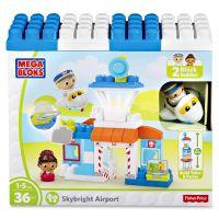 Mega Bloks Skybright Airport Play Set MBLDPJ56
