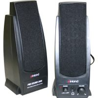 Inland Products Pro Sound 2000 2.0 Speaker System - 7.2 W RMS - Black SYNX3380115