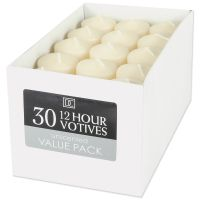Darice Unscented 12 Hour Votive Candles  NOTM159111