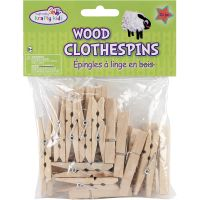 Krafty Kids Wood Clothespins NOTM131145
