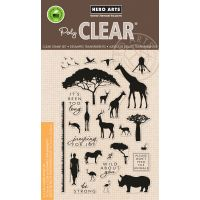 """Hero Arts Clear Stamps 4""""X6"""" NOTM388516"""