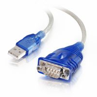 C2G 1.5ft USB to DB9 Serial Adapter Cable SYNX1612568