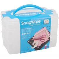 Snapware Snap 'n Stack Craft Organizer Containers NOTM446897