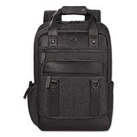 "Solo Bradford Backpack, 15.6"", 12 x 5 x 17 1/2, Black USLEXE7354"