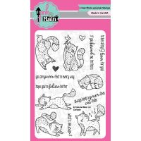"""Pink & Main Clear Stamps 4""""X6"""" NOTM272465"""