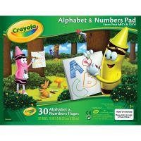Crayola Alphabet & Numbers Pad   NOTM041014