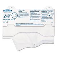 "Scott Personal Seats Sanitary Toilet Seat Covers, 15"" x 18"", 125/Pack KCC07410PK"