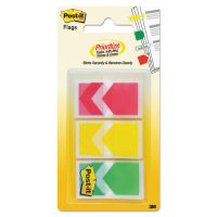 "Post-it Flags Arrow 1"" Prioritization Page Flags, Red/Yellow/Green, 60/Pack MMM682ARRRYG"