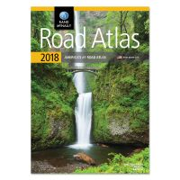 Rand McNally Road Atlas, Glue Top, 144 Pages, 2018 Edition AVTRM528017314