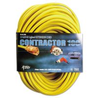 CCI Vinyl Outdoor Extension Cord, 100 Ft, 15 Amp, Yellow COC25890002