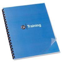 Swingline GBC Clear View Presentation Binding System Cover, 11 x 8-1/2, Clear, 100/Box SWI2000041