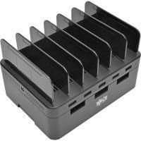Tripp Lite 5-Port USB Fast Charging Station Hub/ Device Organizer 12V4A 48W TRPU280005ST