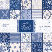 Papermania Parisienne Blue Paper Pack   NOTM321119