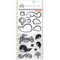 "Mama Elephant Stamp & Die Set 4""X8"" NOTM431525"