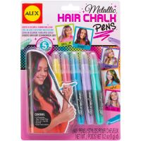 ALEX Toys Metallic Hair Chalk Pens NOTM413037