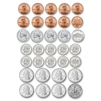 Ashley US Coin Money Set Die-cut Magnets ASH10067