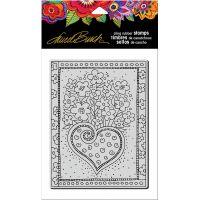 "Stampendous Laurel Burch Cling Stamp 7.75""X4.5"" NOTM215683"