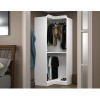 Bestar Versatile by Bestar 36'' Corner storage unit in White BESBES4016517