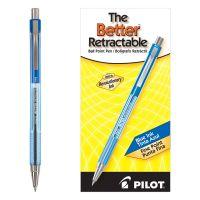 Pilot Better Ball Point Pen, Blue Ink, .7mm, Dozen PIL30001