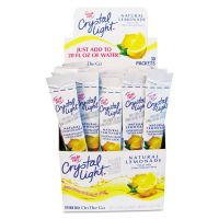 Crystal Light Flavored Drink Mix, Lemonade, 30 .17oz Packets/Box CRY79600